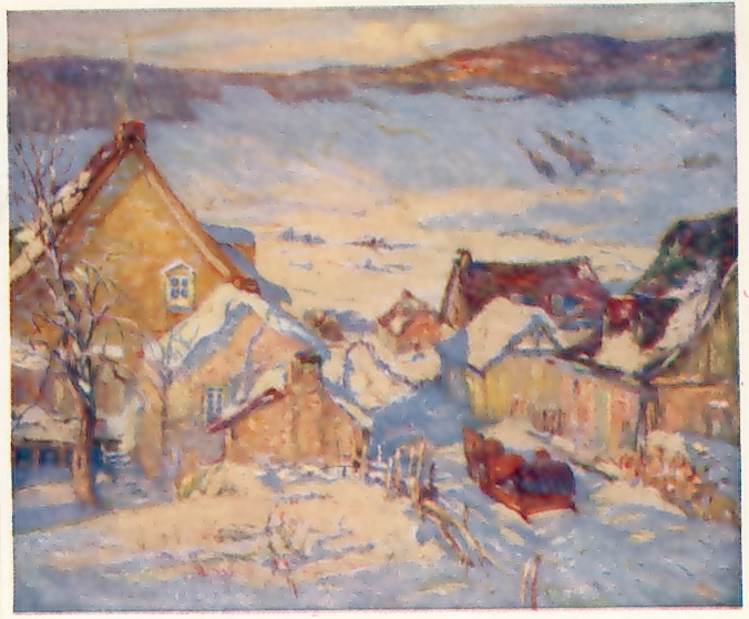 French Canadian Artists Paintings