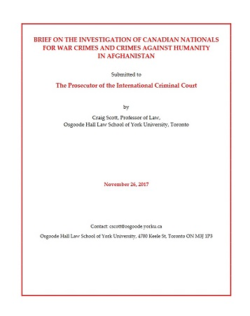 Selected bibliography military law canada with emphasis on scott craig brief on the investigation of canadian nationals for war crimes and crimes against humanity in afghanistan submitted to the prosecutor of the fandeluxe Images